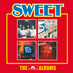 The-Sweet-The-Polydor-Albums-CD-Box-Set-4-discs-2017-NEW-Amazing-Value