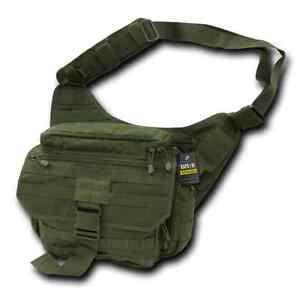 Details About Tactical Military Shoulder Messenger Bag Ccw Od Green Rapdom T311