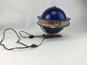 Vintage-Blue-Spinning-Globe-Beer-Lamp