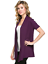 Women-039-s-Solid-Short-Sleeve-Cardigan-Open-Front-Wrap-Vest-Top-Plus-USA-S-3X thumbnail 38