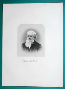 REUBEN-HITCHCOCK-Ohio-Lawyer-1881-Superb-Portrait-Print