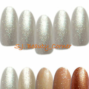Nails-20-x-Oval-Glittered-Hand-Painted-Full-Cover-False-Nails-Medium-Long-1