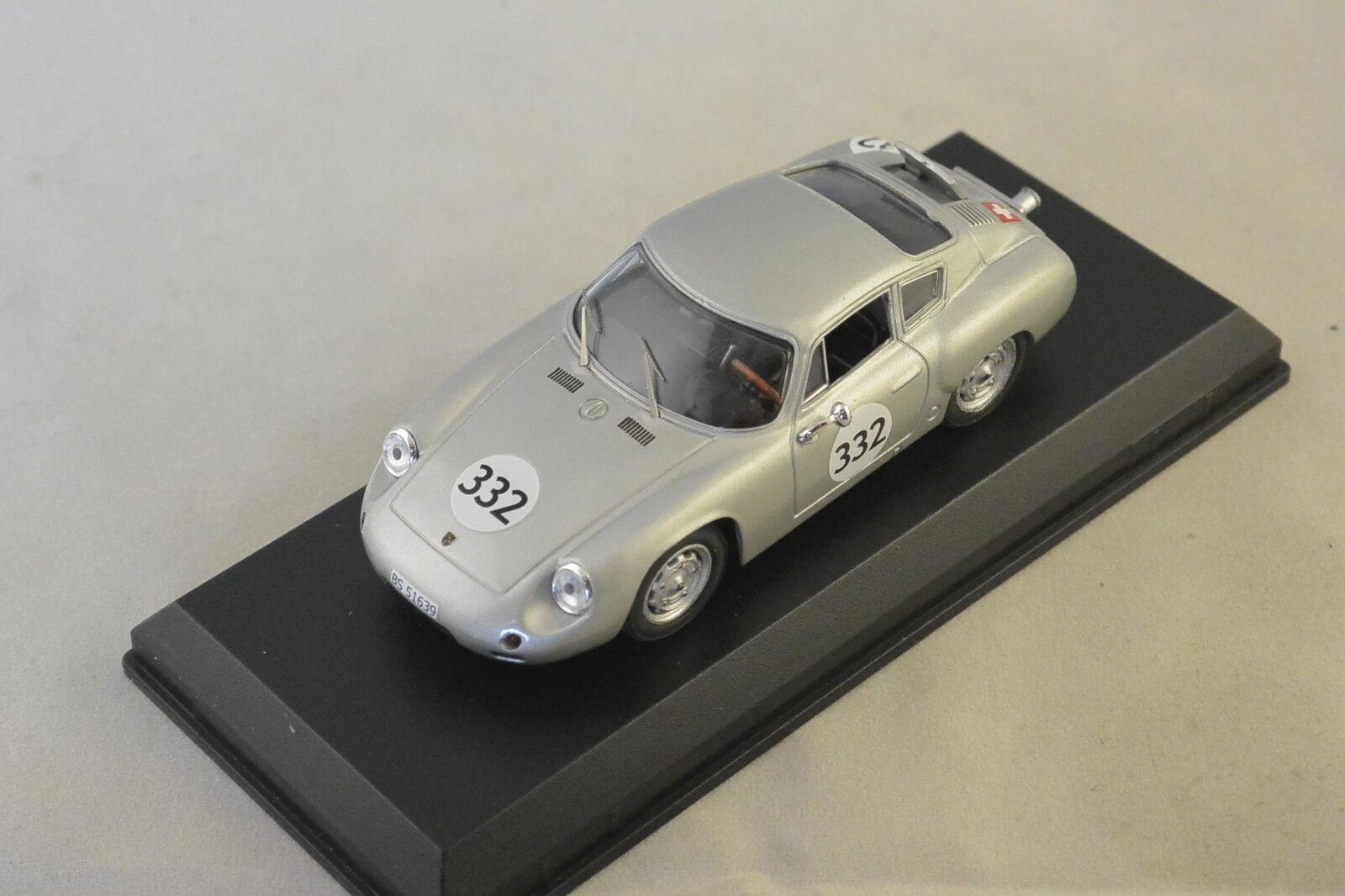 MODEL BEST 9417 - Porsche Abarth 1er championnat d'Europe 1/43