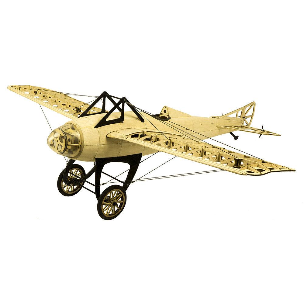 Envío gratuito 1M avión eléctrico de madera balsa Deperdussin monocasco para adultos