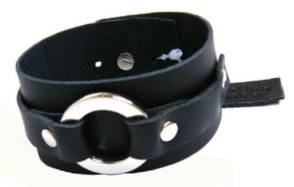 Unisex Echt Leder Armband Mit Nieten Neu L7911