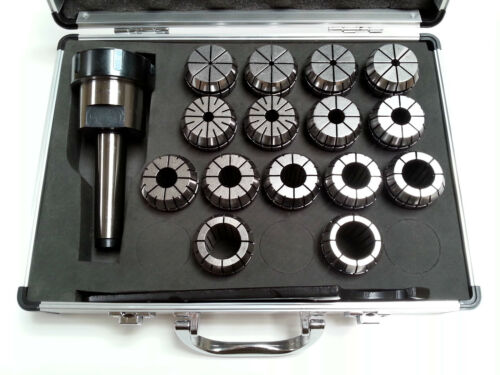 ER40 Collet Set 15 Piece MT3 Metric