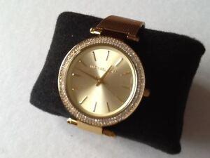 fc4453083a07 Pre-owned  Michael Kors Ladies Darci Crystal Glitz Watch MK-3368 ...