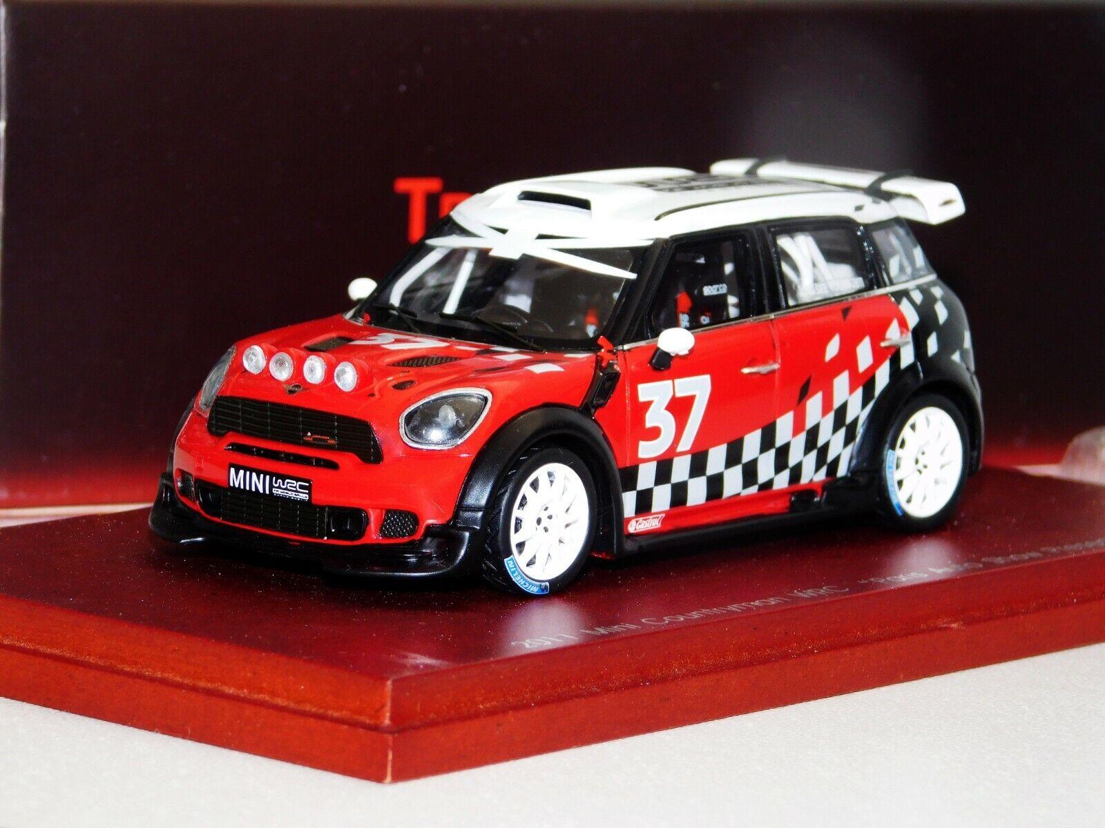 MINI COUNTRYMAN WRC PARIS AUTO SHOW PRESENTATION TRUESCALE TSM114349  1 43