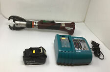 Burndy Patmd Li Patriot Crimper D3 Head Makita 18v Battery Amp Charger Tested
