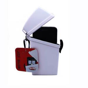 New-Witz-Smart-Phone-Locker-III-Waterproof-Case-White-IPhone-6-Plus-size-phones