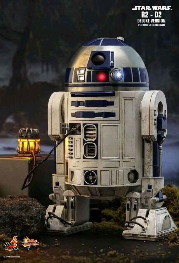 Hot Toys Star Wars - R2-D2 Deluxe 1 6 Scale Action Figure MMS511