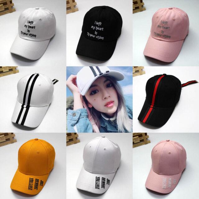 da5b0e6c1 Women Men Hip Hop Kpop Bboy Snapback Baseball Cap Fashion Letter Embroidery  Hat