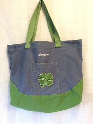 Women Handle Saint Patricks Day Clover Blue Satchel Handbags Tote Purse Shoulder Bag Big Capacity Handbag