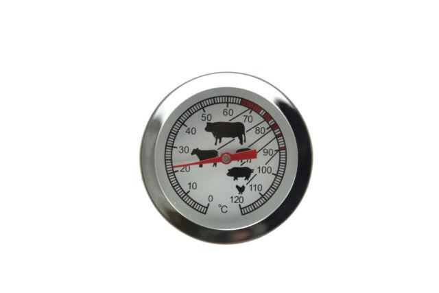 Edelstahl Fleischthermometer Bratenthermometer Gans-Fleisch-Braten Thermometer
