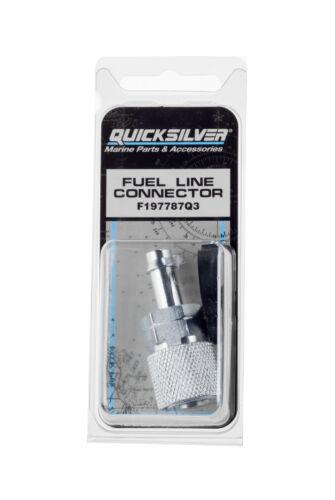 QUICKSILVER F197787Q3 QUICK DISCONNECT FUEL LINE FITTING