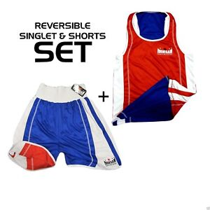 Morgan-Reversible-Boxing-Singlet-And-Short-SET-Red-Blue-Competition-ABA-NSW