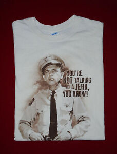 ANDY GRIFFITH Show T-Shirt BARNEY FIFE Vtg 2017 Mayberry JERK Mens NEW : XL