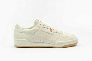 ADIDAS MEN'S CONTINENTAL 80 SHOES OFF WHITE RAW WHITE GUM