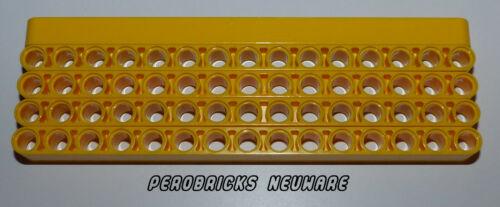 Lego Technic Technique 5 Liftarme 15 Trous #32278 jaune Article neuf