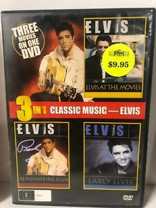 3-in-1-DVD-Elvis-At-the-movies-Remembering-Early-DVD-FREE-POST