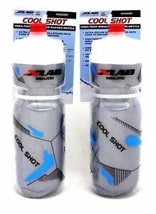 Xlab Cool Shot Insulated Water Bottles Pair X-Lab