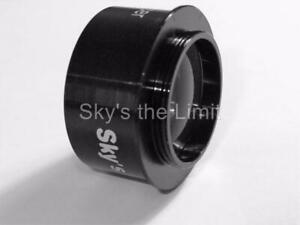 """Starguider 1.25"""" 0.5x Focal Reducer with C mount"""