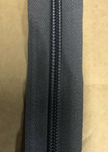 "A11 yards USA YKK® CI 5//8"" Coil Zipper Chain Tape  #5 Medium Gray 25 Cont"