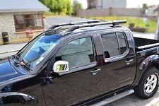 To Fit 2005 - 2016 Nissan Navara D40 Roof Rails Rack Bars 4x4 Accessories