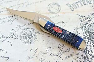 2020 Case Tested XX USA 10 Dot Limited Edition Bone Russ Lock Knife 61953 L SS