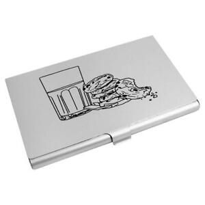 'Milk & Cookies' Business Card Holder / Credit Card Wallet (CH00023274)