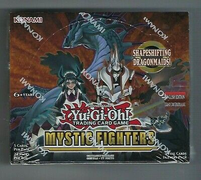 YuGiOh Mystic Fighters Sealed Booster Box
