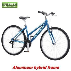 c170c1962 Schwinn Hybrid Bike Blue 700C Women's Cruiser Alloy Frame Sport Road ...