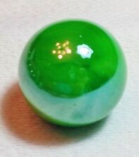 """GLASS MARBLE """"GREEN APPLE"""" 22mm SHOOTER"""