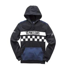 zwart Alpinestars hoody fleece Mannensweater Casual IIqFf