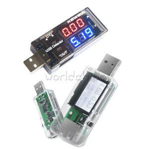 CARICABATTERIE-USB-Rilevatore-di-tensione-corrente-Voltmetro-Amperometro-Digitale-7-in-1-Tester-LCD