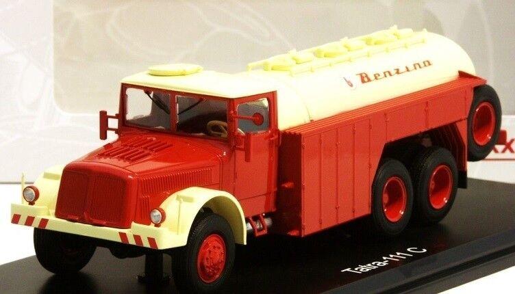 PRXPLC47032 - Camion Citerne Tatra 111C BENZINA de couleur Rouge Rouge Rouge et Blanc - 1 43 54fd20