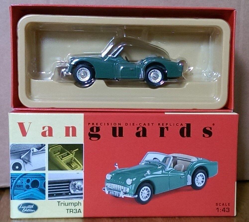 Corgi VA04701 Triumph TR3A Apple Green Ltd Edition No. 5284 of 5400