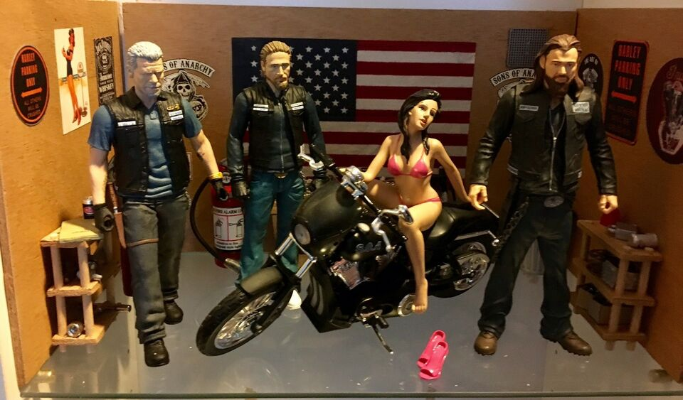 Legetøj, Sons of Anarchy værksted med figurer