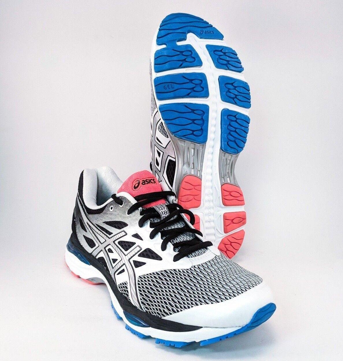 Asics Gel-Cumulus 18 Black Blue Pink Running Mens Size 7.5 T6C3N FREE PRIORITY