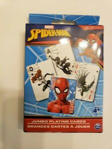 Marvel-Spider-man-Jumbo-Playing-Cards-NEW-from-Spin-Master-Cardinal-Marvel