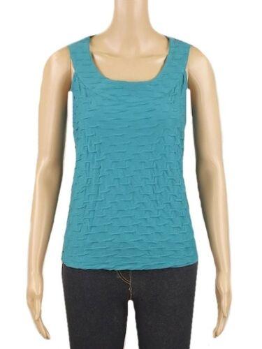 New Ex Per Una Ladies Jade Casual Sleeveless Summer Vest Top Size 10-24 M/&S