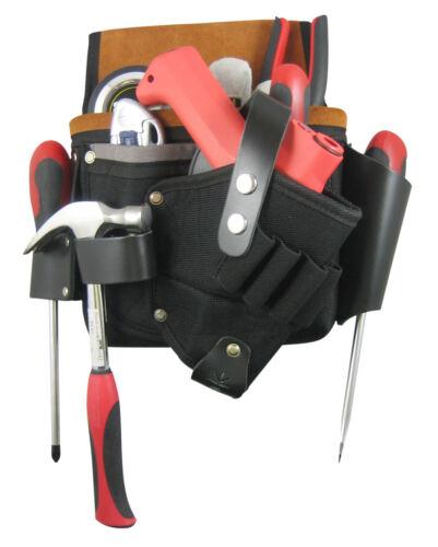 Toolpack Profi Leder Werkzeuggürtel Werkzeugtasche Halfter Gürteltasche 367.002