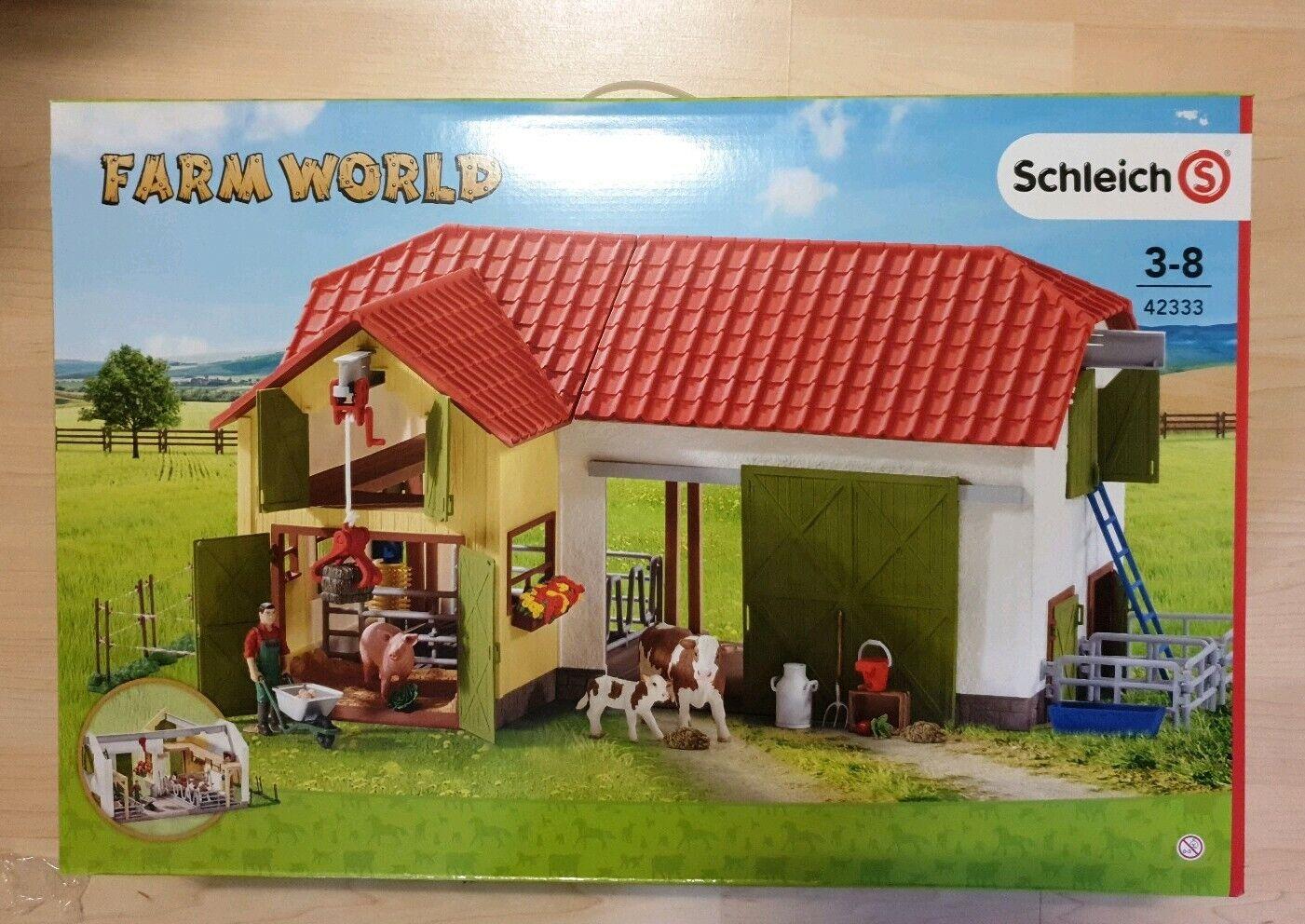 Schleich Farm World Bauernhof 42333 NEU OVP