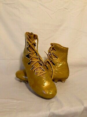 41 Under Armour Highlight LUX MC Football Cleats Gold Rush 8.5-13 1297953-795