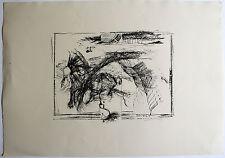ARMIN SANDIG - Pferd (1965). Handsignierte Lithografie aus Griffelkunst-Edition.