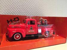Ford F1 Pick Up '48+HD Knucklehead '36 1:24 Maisto neu + OVP 532191