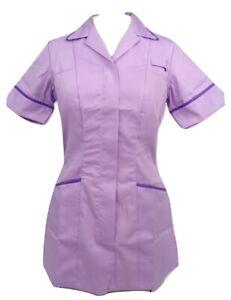 2f60739c0b8 Image is loading Alexandra-HF561-Lilac-Purple-Ladies-Nurses-Care-Assistant-