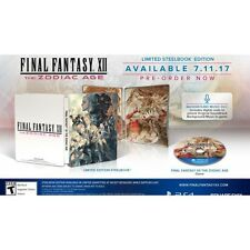 Preordine 11 luglio FINAL FANTASY XII THE ZODIAC AGE limited Playstation 4 PS4