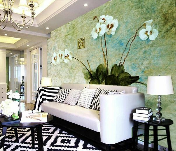 3D Phalaenopsis 116 WallPaper Murals Wall Print Decal Wall Deco AJ WALLPAPER