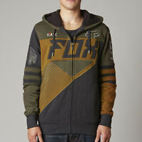 Fox Racing Racer Sasquatch Zip Up Hoody Heather Black
